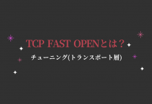 TCP FAST OPEN 高速化